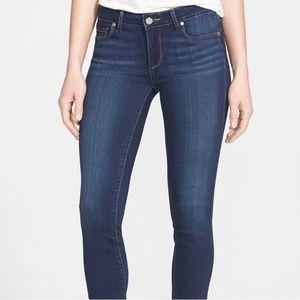 PAIGE Skyline Skinny Jeans Dark Blue 25